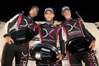 Podium Driving Koncept 12heures VdeV Paul Ricard 2015